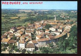 CPM Neuve 01 PEROUGES Cité Médiévale Vue Générale - Pérouges