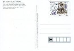 Carte Postale Entier Postal Auguste Alphonse Marty (poste Aux Armées)  Guerre 1914-1918 WW1 - Ganzsachen