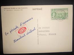 Montserrat Carte De Plymouth 1956 Pour Rabastens - Montserrat