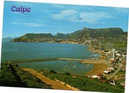 Tarjeta Postal De Calpe Circulada 1984 - Alicante