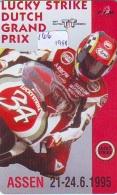 NEDERLAND CHIP TELEFOONKAART CRE 166 * TT Assen * MOTOR * MOTOR-RACE * Telecarte A PUCE PAYS-BAS * ONGEBRUIKT MINT - Motorbikes