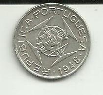 50 Avos 1948 Timor Silver - Timor