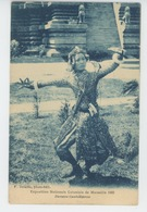 ASIE - CAMBODGE - Danseuse Cambodgienne - Exposition Coloniale De MARSEILLE 1922 - Cambodge