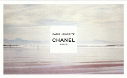 "CHANEL  ""Les EAUX De CHANEL""  * Biarritz*  Format Carte Postale - Modern (from 1961)"