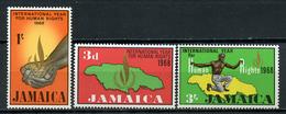 1968 - JAMAICA - Mi. Nr. 273/275 - NH - (CW4755.12) - Jamaica (1962-...)