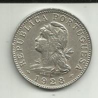 50 Centavos 1928 S. Tomé Rare - Sao Tome Et Principe