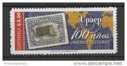Guatemala (2011) - Set -  / UPAEP 100 - Stamp On Stamp - Timbre Su Timbre - Sello Sobre Sello - Gezamelijke Uitgaven