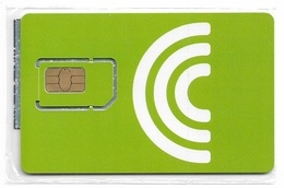 Romania - Cosmote - Green GSM SIM2 Mini #2, NSB - Romania