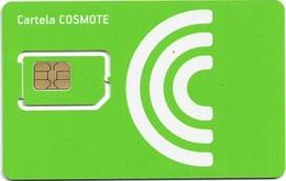 Romania - Cosmote - Green GSM SIM2 Mini #3, Mint - Romania