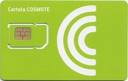 Romania - Cosmote - Green GSM SIM2 Mini #5, Mint - Romania