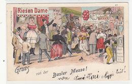 Gruss Von Der Basler Messe - Litho - 1897     (P-148-70503) - BS Bâle-Ville