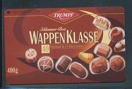 GERMANY  O  900  96 Trumpf Schokolade  - Auflage - 1000 -siehe Scan - Deutschland