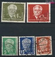 DDR 322-326 (kompl.Ausg.) Wasserzeichen 2 Gestempelt 1952 Wilhelm Pieck (9187856 - DDR