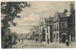 Egham 4224 High Street  Bank Edit Gilbert Some Crease - Surrey