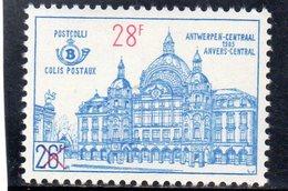 BELGIEN 1961-3 ** - Bahnwesen