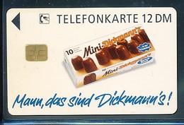 GERMANY  O  1234  95 Mini Dickmann`s Schokolade  - Auflage - 1100 -siehe Scan - Deutschland