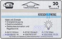 TWK Österreich Privat: 'Heresch-Werke' Gebr. - Austria