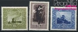 Liechtenstein 301-303 (kompl.Ausg.) Postfrisch 1951 Werke Holländischer Meister (8894044 - Liechtenstein