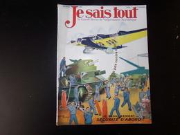 """Revue """" Je Sais Tout """" N° 314  Février 1932 """" Le Désarmement ... Sécurité D'abord """" - Livres, BD, Revues"""