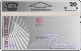 TWK Österreich Privat: 'KSV - Servicekarte' Gebr. - Austria