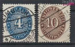Deutsches Reich D130-D131 Gestempelt 1933 Ziffer Im Oval/Farbänderung (9210571 - Gebraucht