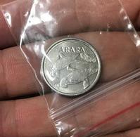 BRAZIL COIN 5 CRUZEIROS REAL - ARARA MACAW - 1993 - Brasil