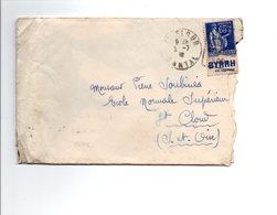 MULLER PUB BYRRH SUR LETTRE DU 2/7/1932 - Advertising