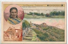 MADAGASCAR   -  Les  Colonies  Françaises   -  Rade De Diego - Suarez  Et  Tananariva - - Madagascar
