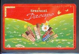 GERMANY  O 098  96 Sprengel Schokolade - Dacapo  - Auflage - 3000 -siehe Scan - Deutschland