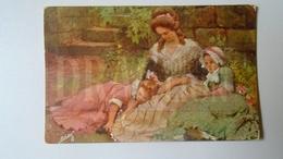 D159081 Illustrator Dr. Seeger -Ruhepaus - Tuck Oilette German  Serie  1215B  -1909 Hungary  Orosháza - Toorop, Jan