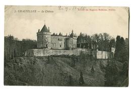 CPA 89 Yonne Chastellux Le Château - France