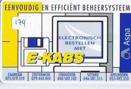 NEDERLAND CHIP TELEFOONKAART CRE 174 * Aspa * Telecarte A PUCE PAYS-BAS * ONGEBRUIKT MINT - Netherlands