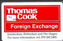 NEDERLAND CHIP TELEFOONKAART CRE 176 * Thomas Cook * Telecarte A PUCE PAYS-BAS * ONGEBRUIKT MINT - Netherlands