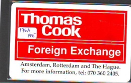 NEDERLAND CHIP TELEFOONKAART CRE 176a * Thomas Cook * Telecarte A PUCE PAYS-BAS * ONGEBRUIKT MINT - Netherlands