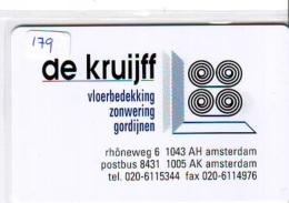 NEDERLAND CHIP TELEFOONKAART CRE 179 * De Kruijff * Telecarte A PUCE PAYS-BAS * ONGEBRUIKT MINT - Netherlands