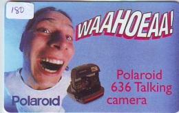 NEDERLAND CHIP TELEFOONKAART CRE 180 * POLAROID * Telecarte A PUCE PAYS-BAS * ONGEBRUIKT MINT - Netherlands
