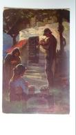 D159083 Illustrator  E.Richter -Über Allen Wippfeln Ist Ruh - Flute- Tuck Oilette German Serie  -1909 Hungary  Orosháza - Toorop, Jan