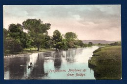 Pangbourne ( Berkshire). Meadows & C. From The Bridge. La Tamise Et Les Prairies Inondables. 1908 - Reading