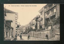 SALINS LES BAINS - Vieilles Maisons Rue Gambetta - France