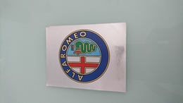 Sticker Panini Marque Alfa Roméo Grand Modèle - Panini