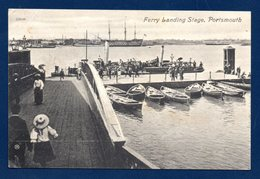 Portsmouth ( Hampshire). Ferry Landing Stage. 1909 - Portsmouth