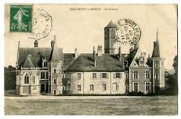 CPA 37 Indre Et Loire Beaumont-la-Ronce Le Château - Beaumont-la-Ronce