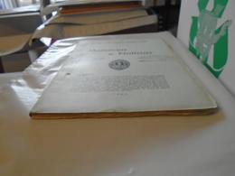 Museu E Laboratorio Mineralogico Geologico E Centro De Estudos Geologicos Universidade COÏMBRA. MEMORIAS NOTICIAS N° 39 - Bücher, Zeitschriften, Comics