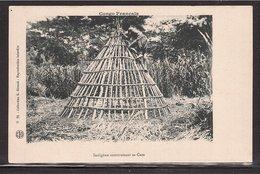 CPA CONGO Construction D'une Case - Congo Français - Autres