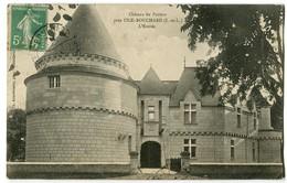 CPA 37 Indre Et Loire L'Ile-Bouchard Environs. Château De Paviers L'Entrée - L'Île-Bouchard