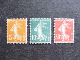 TB Série N° 158 Au N° 160, Neufs XX . - France