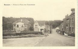 RIXENSART : Avenue Et Place Des Combattants - RARE CPA - Cachet De La Poste 1950 - Rixensart