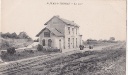 St -Jean- Le -Thomas/50/ La Gare/ Réf:fm534 - Autres Communes