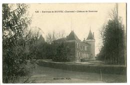 CPA 16 Charente Ruffec Environs Château De Domezac - Ruffec