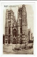 CPA - Carte Postale -BELGIQUE - Bruxelles - Eglise Sainte Gudule - 1939- S560 - Monumenten, Gebouwen